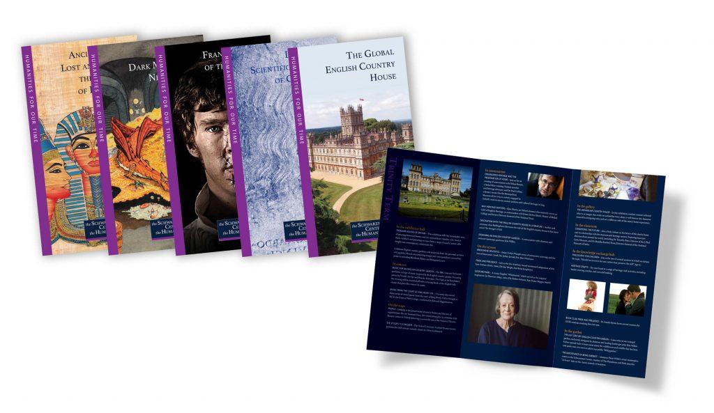 marketing collateral design, brochure design, series design, new york city, london