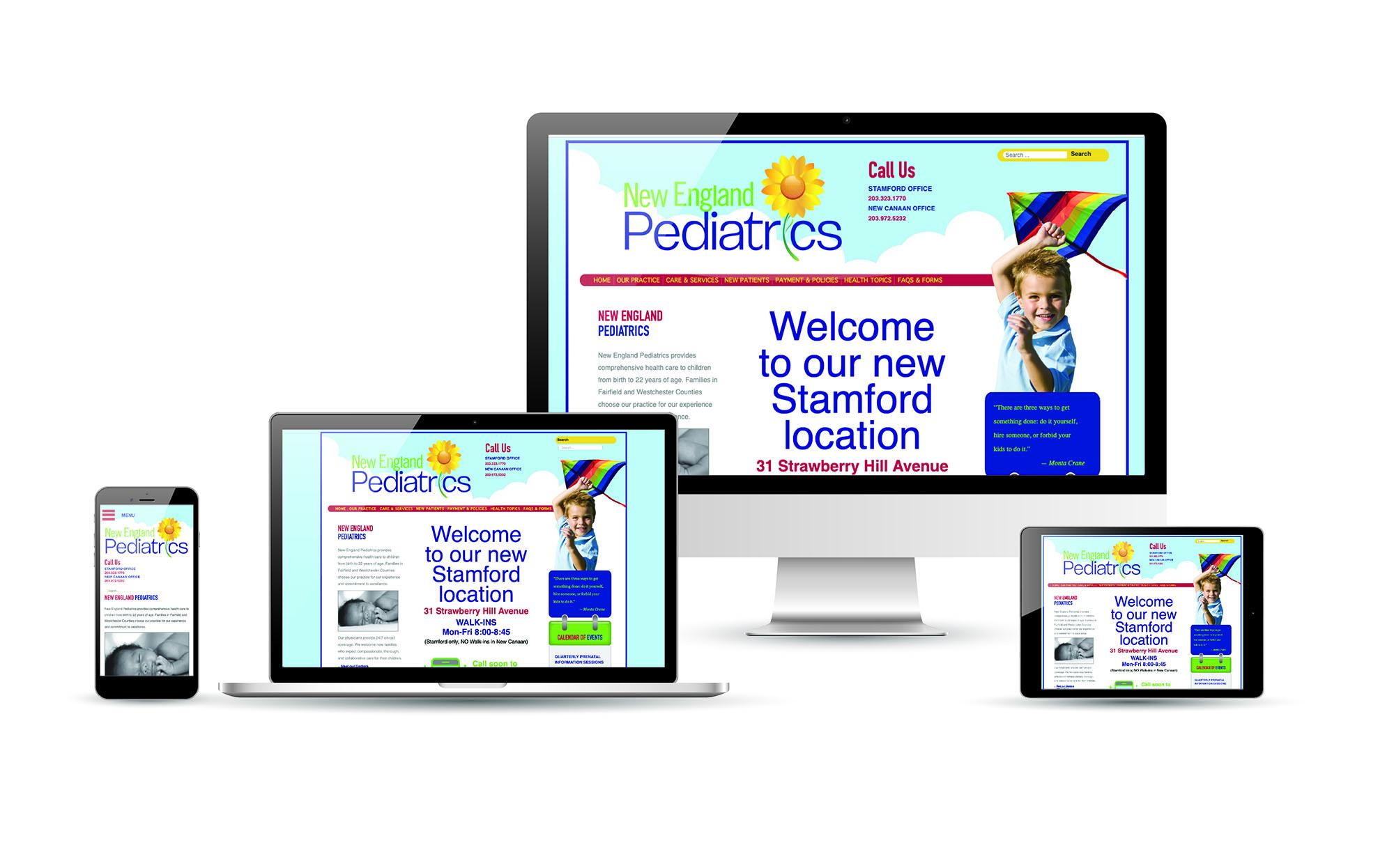website design, physician website design, connecticut