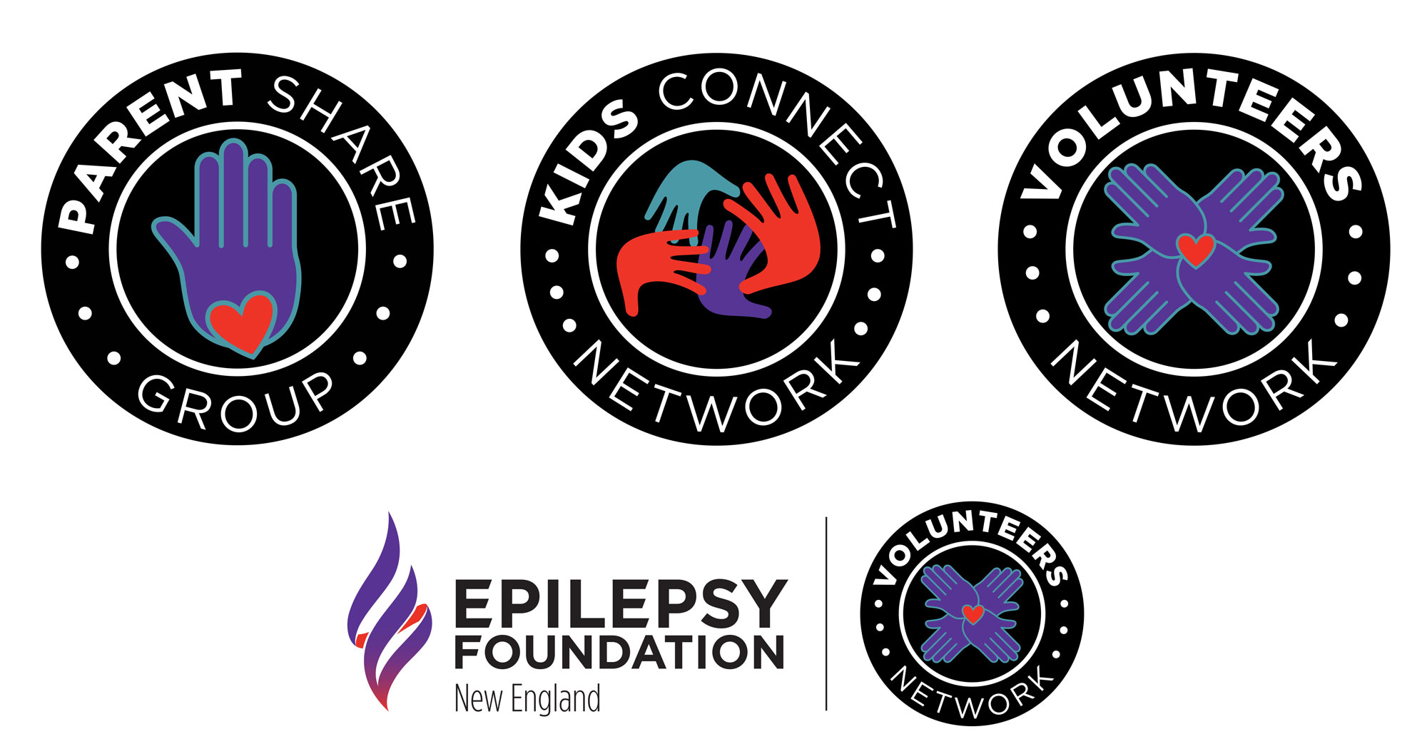 epilepsy foundation sub logo designs