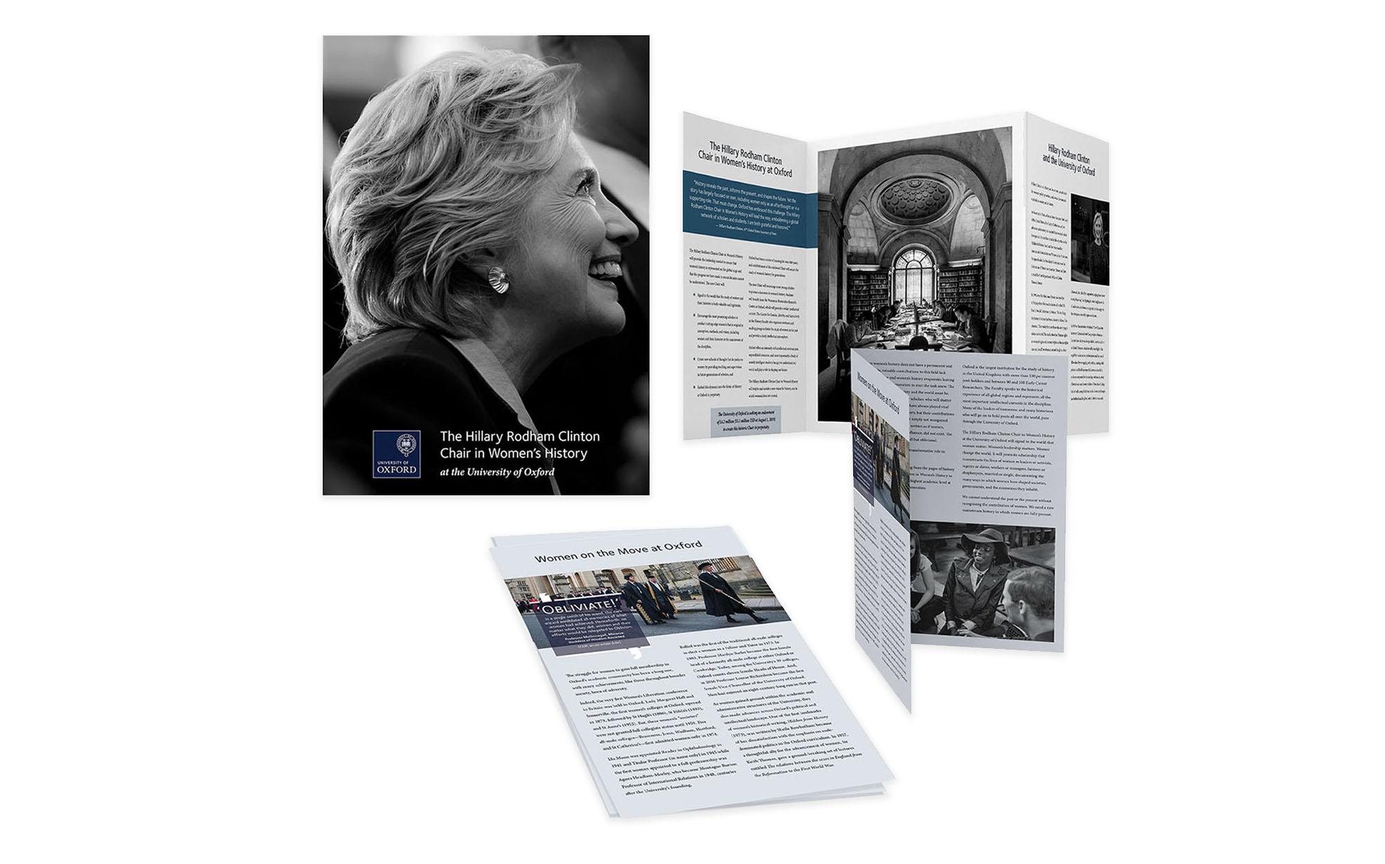 brochure design, new york city, university college marketing