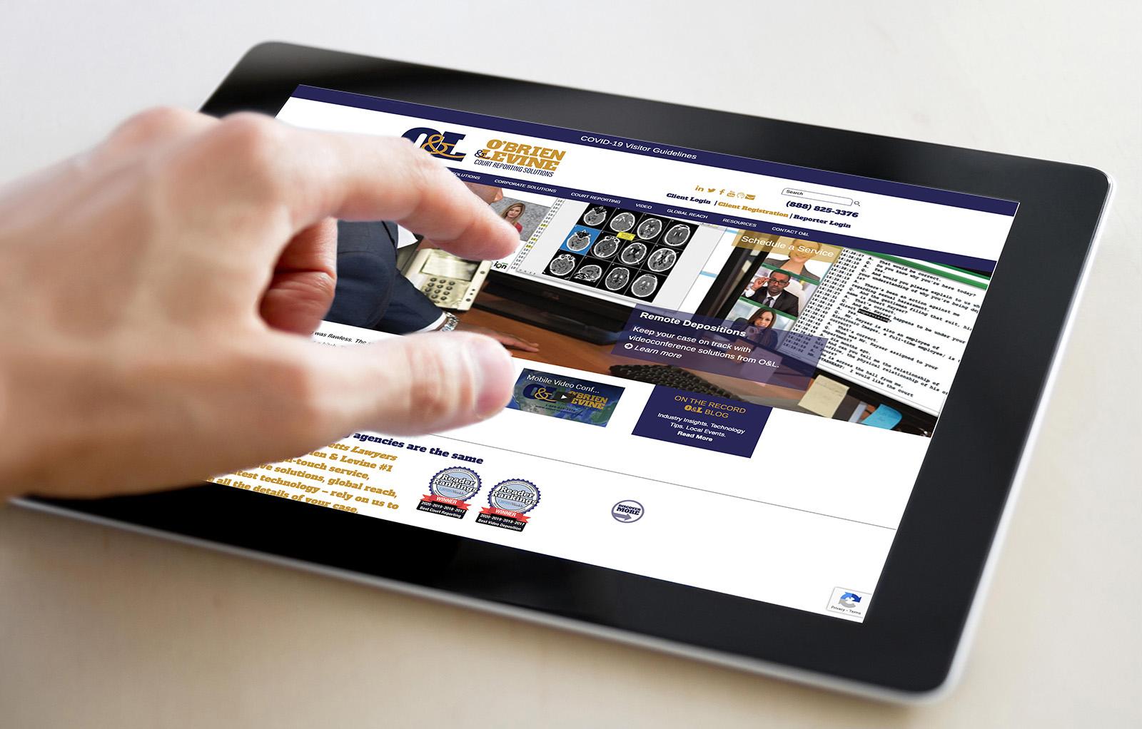 legal wordpress website design