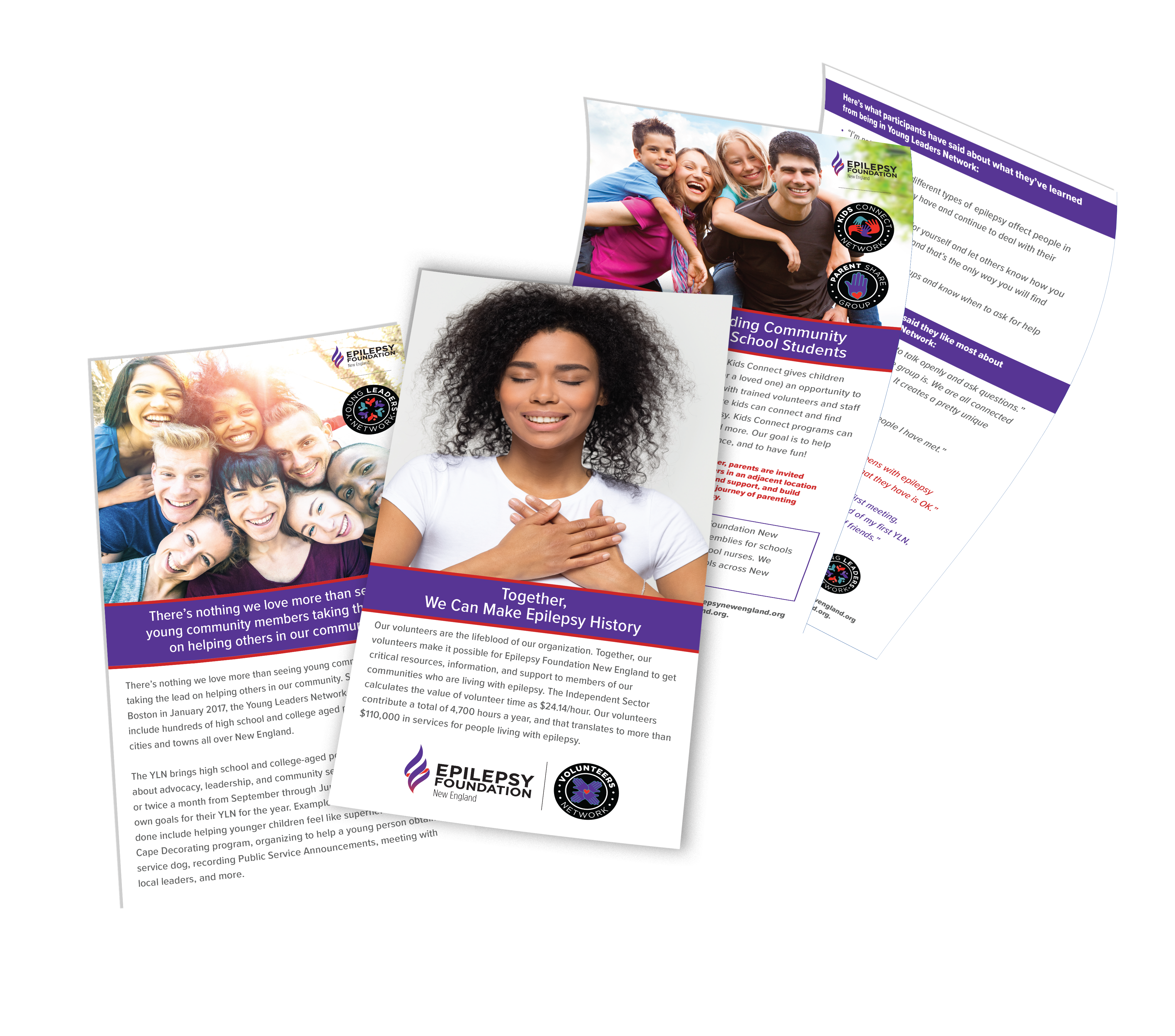 epilepsy foundation brochure designs