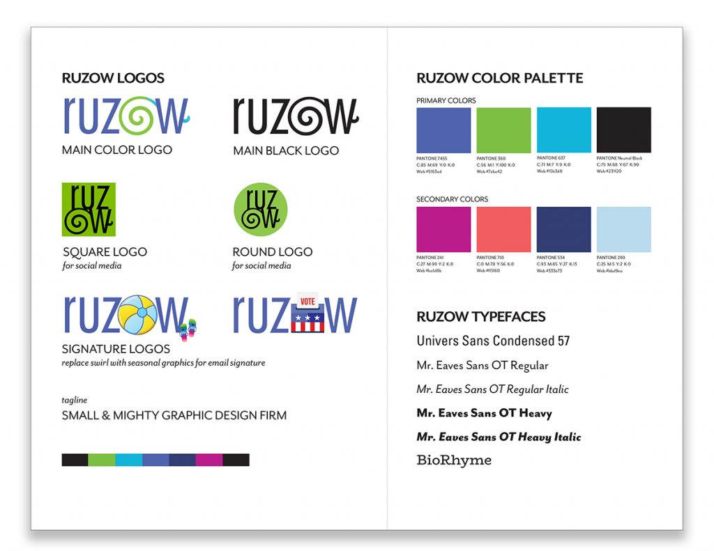 brand guidelines, visual guidelines
